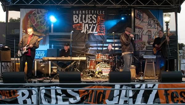 Orangeville Blues and Jazz Festival Photo by Pete Paterson