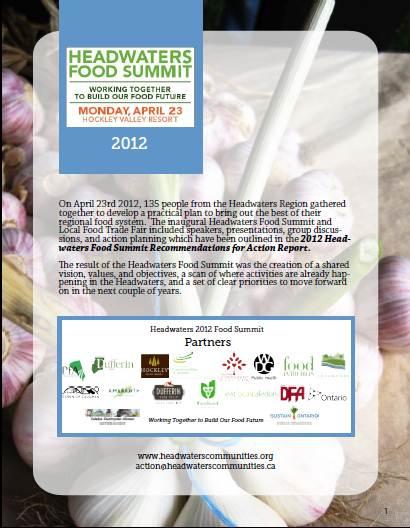 2012 Food Summit Highlights