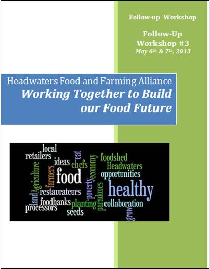 May 2013 Workshop Report Cover