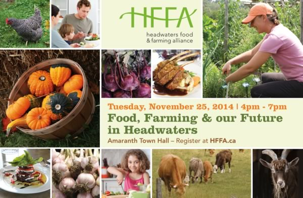 HFFA Food Farming and our Future in Headwaters