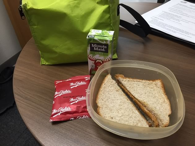 Day One Lunch, will there be enough suitable food to create lunches for the next 2 days?